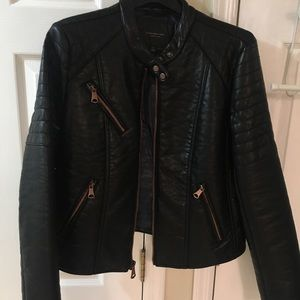 Andrew Marc Faux Leather Jacket